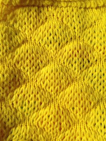 Knitting Stitches Bubble : 509