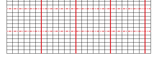picture regarding Printable Knitting Graph Paper referred to as Coming up with knit graph paper upon mac, having Excel and Quantities