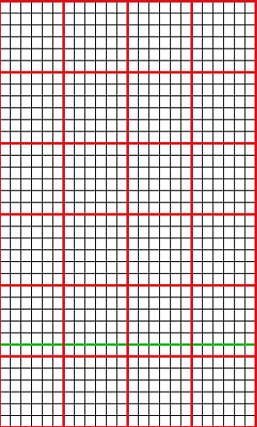 photograph about Printable Knitting Graph Paper known as Designing knit graph paper upon mac, working with Excel and Figures