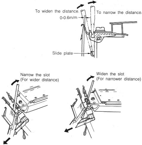 THUMB SCREW for KR230 KR260 KR850 Ribber Brother Knitting Machine